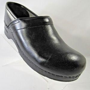 Dansko Size 11.5 Black Slip On Clogs Mens Shoes